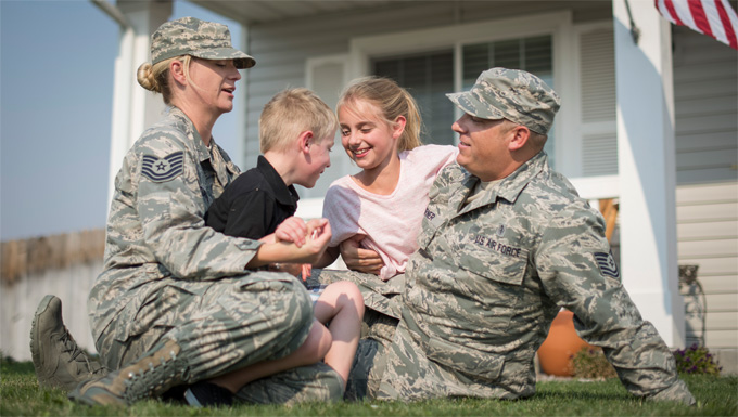 Governor declares Year of Idaho's Military Families
