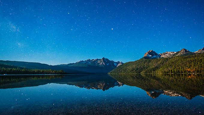 Redfish Lake Picture
