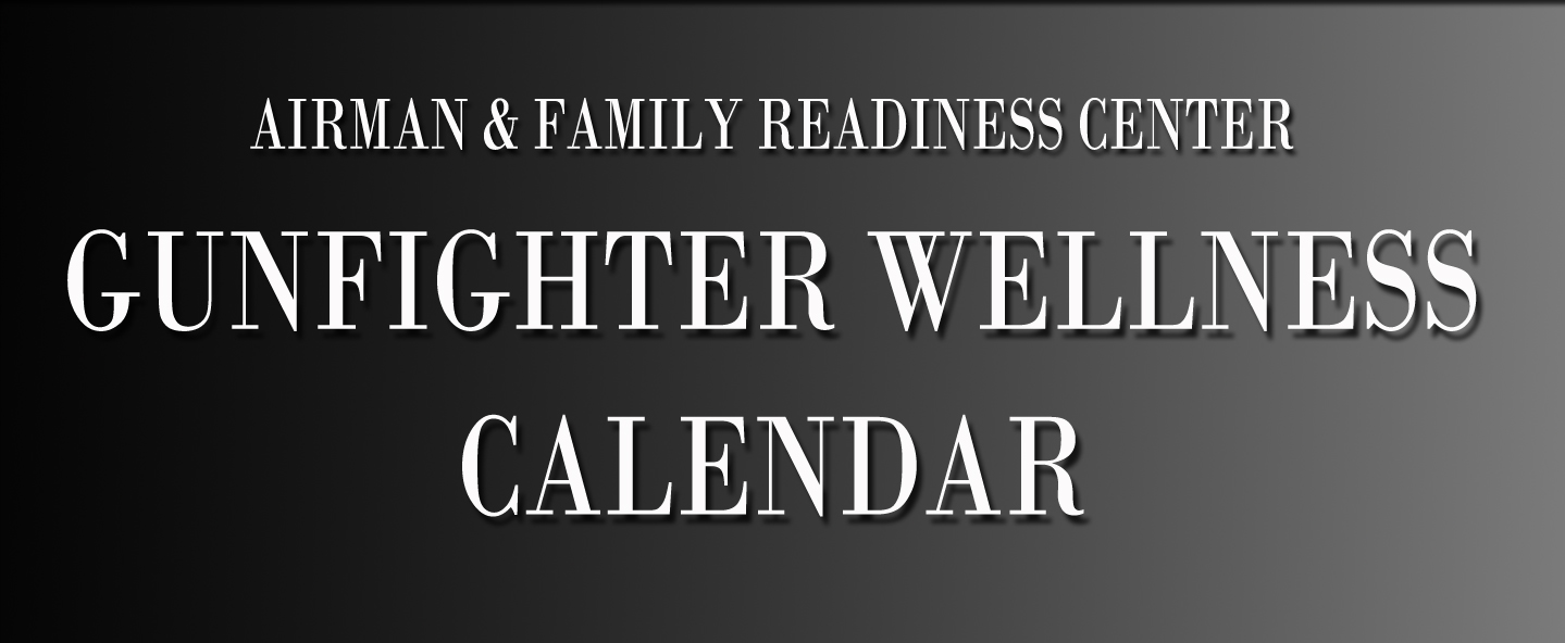 Gunfighter Wellness Calendar