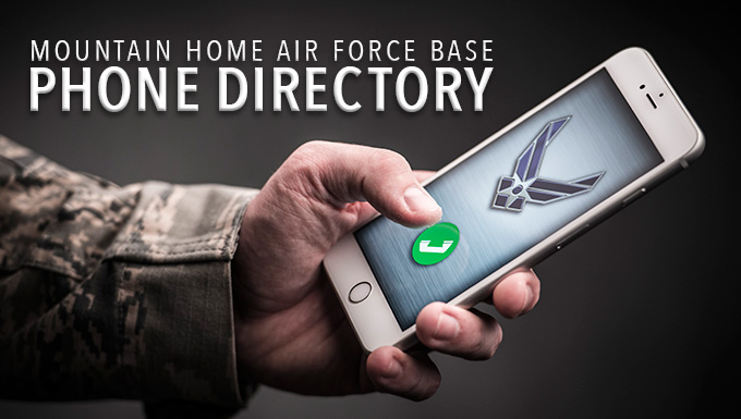 Mountain Home AFB Phone Directory